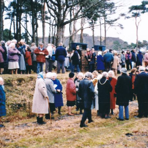 1994 Remembrance Of 1944 Explosion At Broughton Moor WW2 Munitions Dump Congregation 1