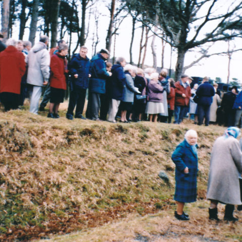 1994 Remembrance Of 1944 Explosion At Broughton Moor WW2 Munitions Dump Congregation 4