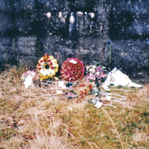 1994 Remembrance Of 1944 Explosion At Broughton Moor WW2 Munitions Dump Congregation 9 Wreath