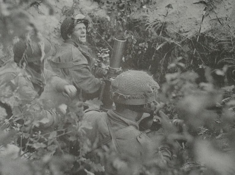 Army At War Arnhem Mortar In Action