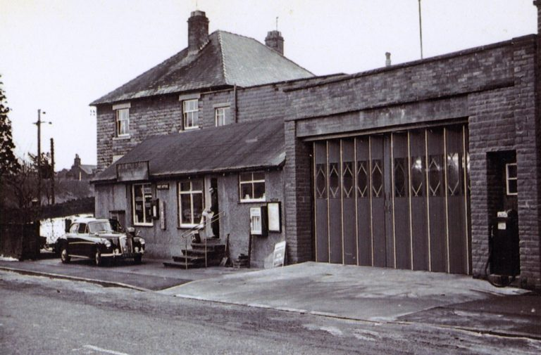 Bakehouse Warehouse Petrol Pump 1963