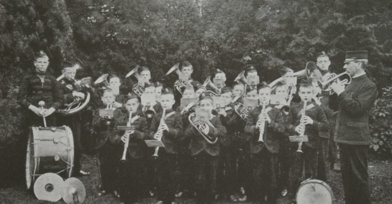 Band Cockermouth Boys Industrial School 1900