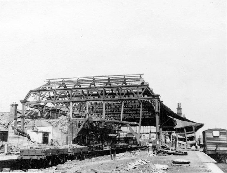 Barrow Station War Bombed 2