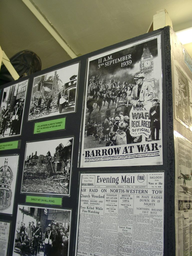Barrow At War Poster