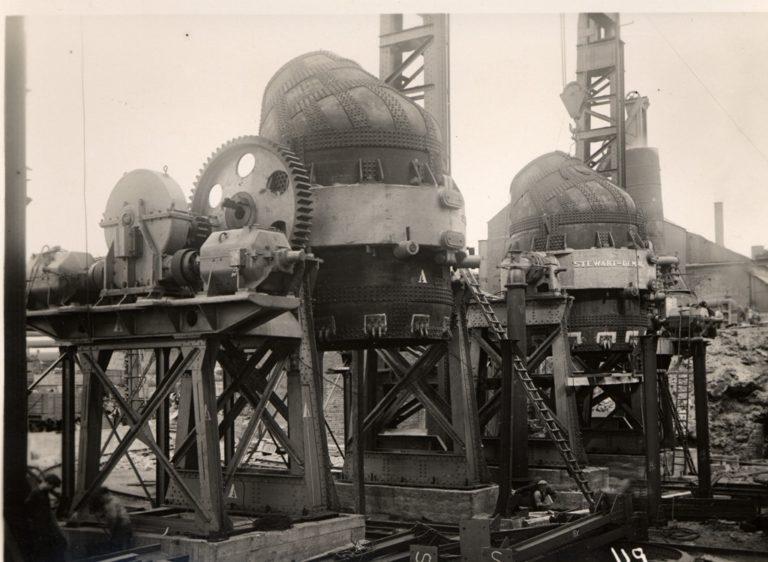 Bessemer Steel Converters Outside