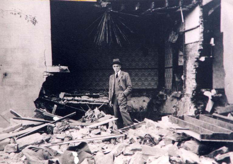 Bomb Damage Workington 1940 War 2