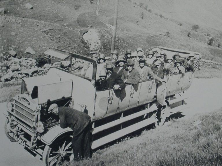 Car Damlier Charabanc On Kirkstone Pass