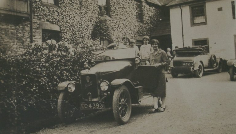Car And People 1920s