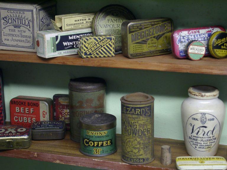 Chemist Shop Tins