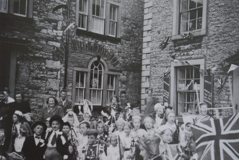 Children In Fancy Dress For Coronation 1953
