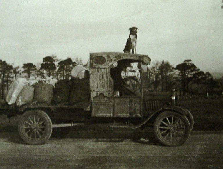 Coal Wagon Old