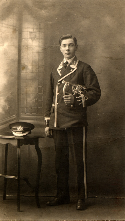 Cook George Edward Silver Band Uniform 1924