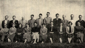 Court Of Luxembourg Choir Pic 1957