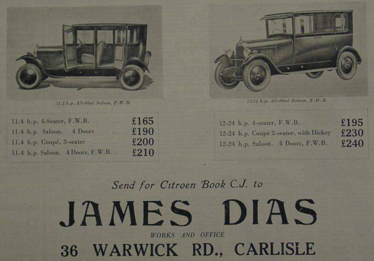 Dias Car Ad