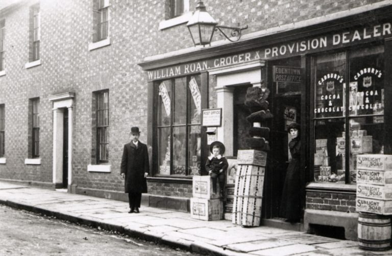 Eden St Carlisle William Roan Grocers C1900