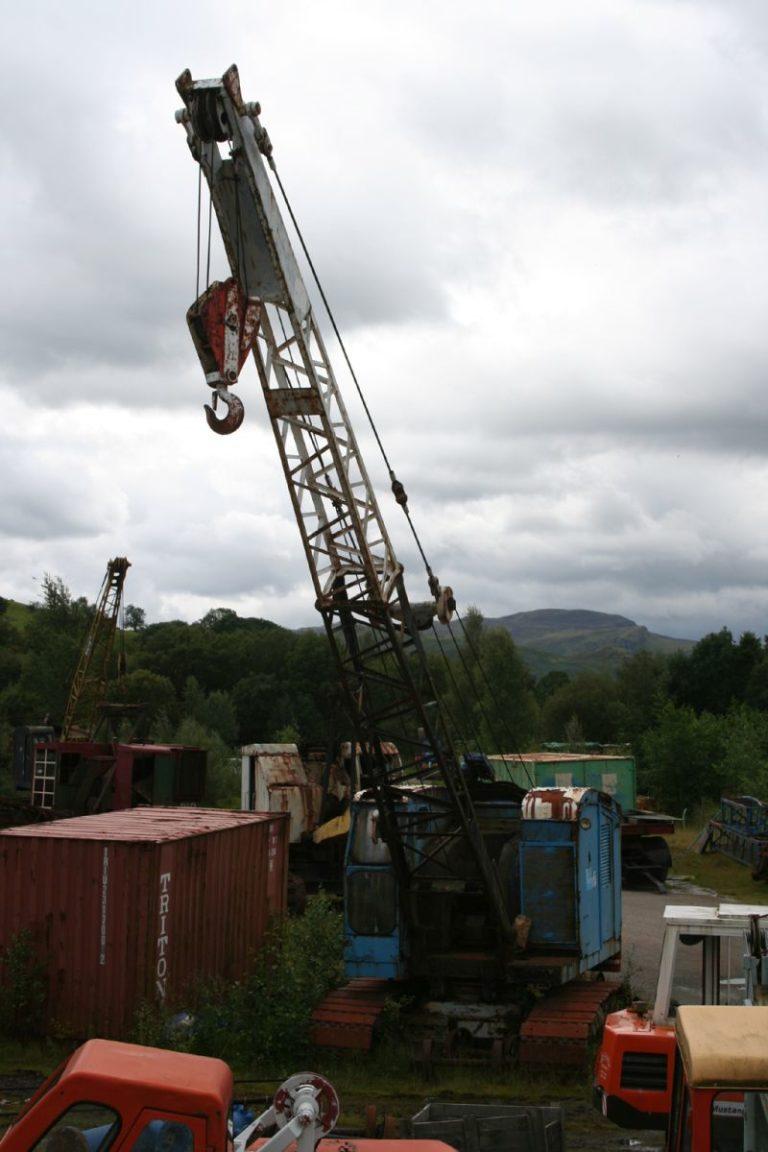 Excavators 02 Threlkeld Quarry