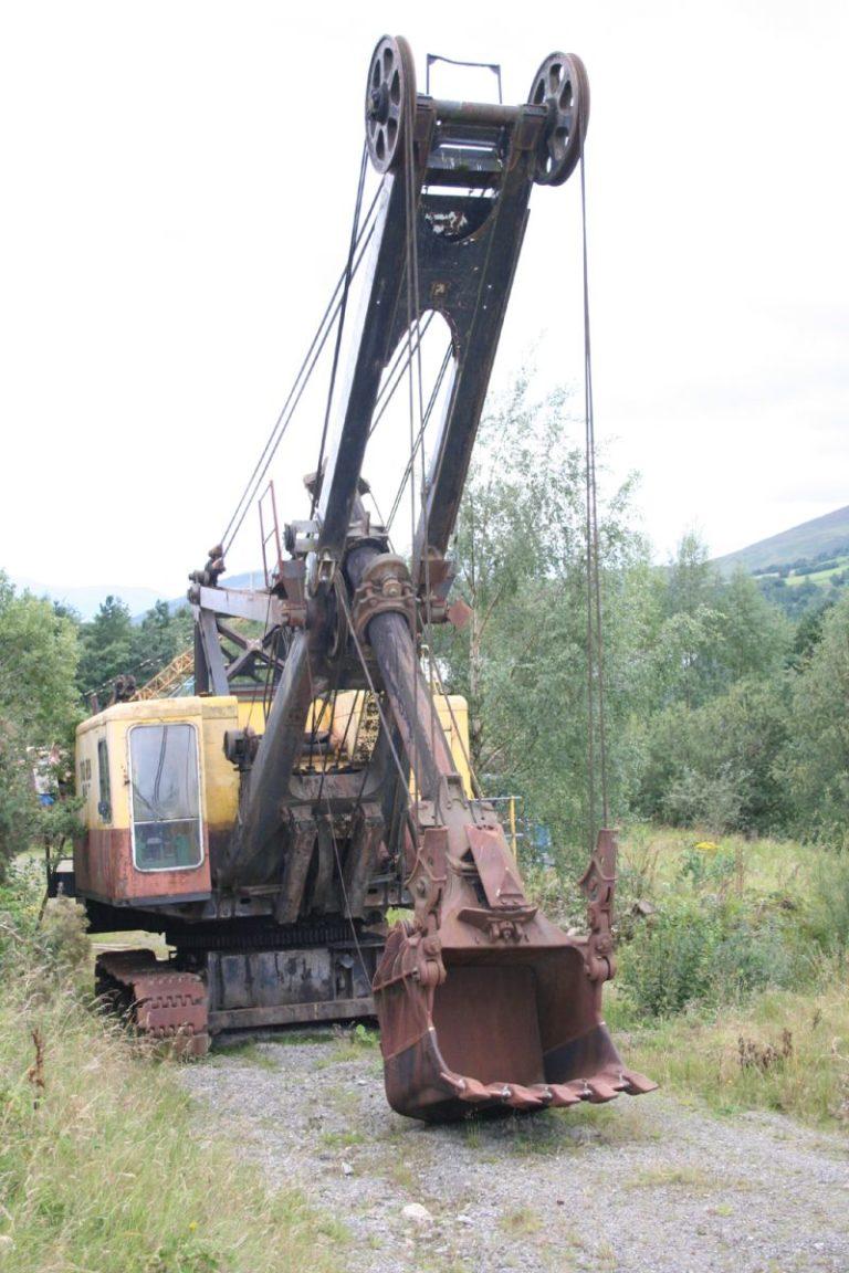 Excavators 03 Threlkeld Quarry