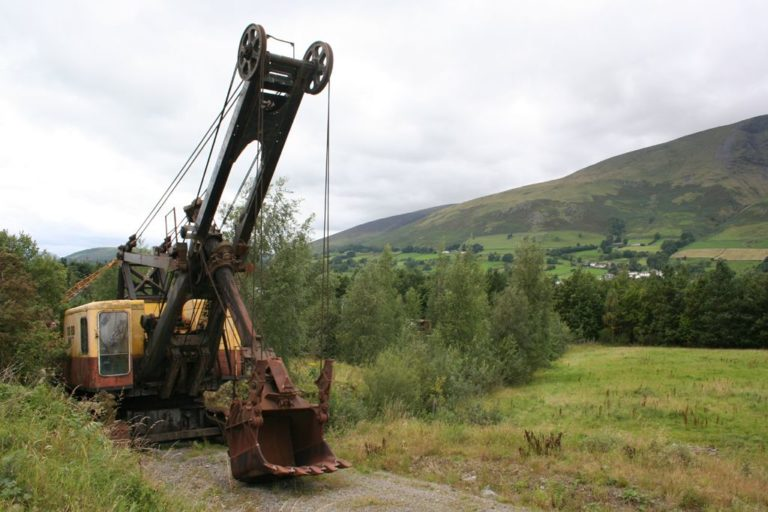 Excavators 04 Threlkeld Quarry