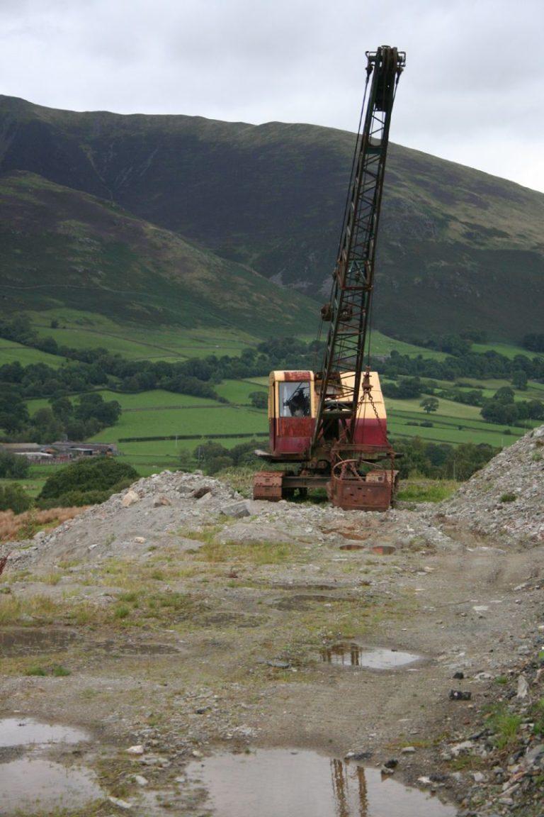 Excavators 07 Threlkeld Quarry