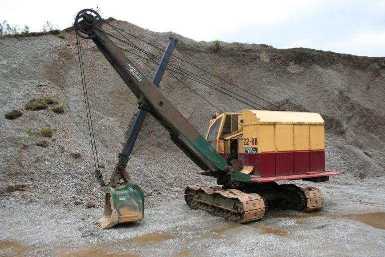 Excavators 10 Threlkeld Quarry