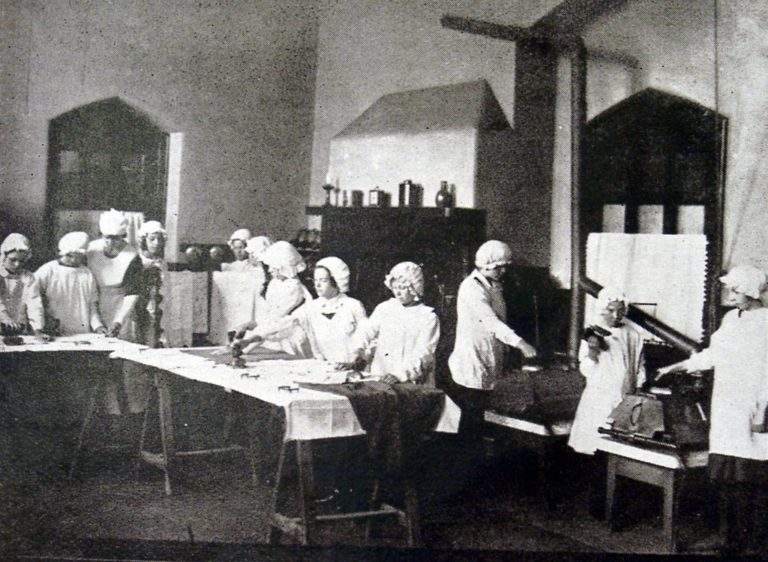 Girls Ironing Class