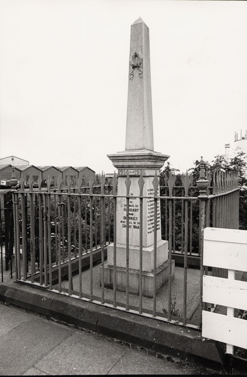 Harraby War Memorial 1979