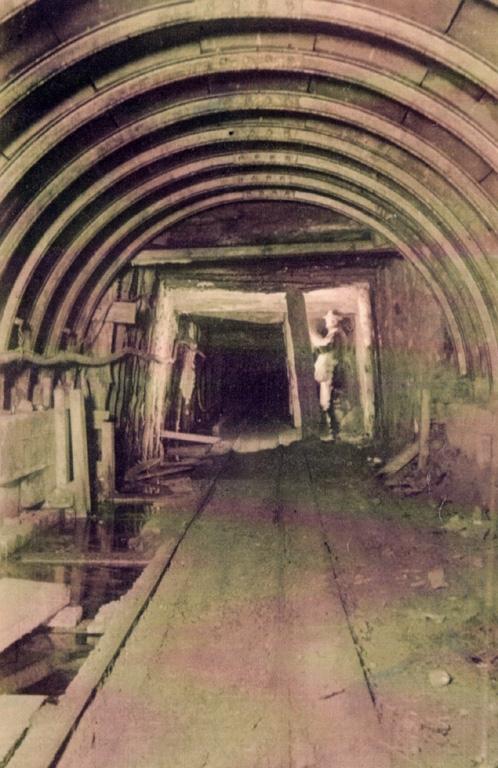 Hodbarrow Mine Steel Arches