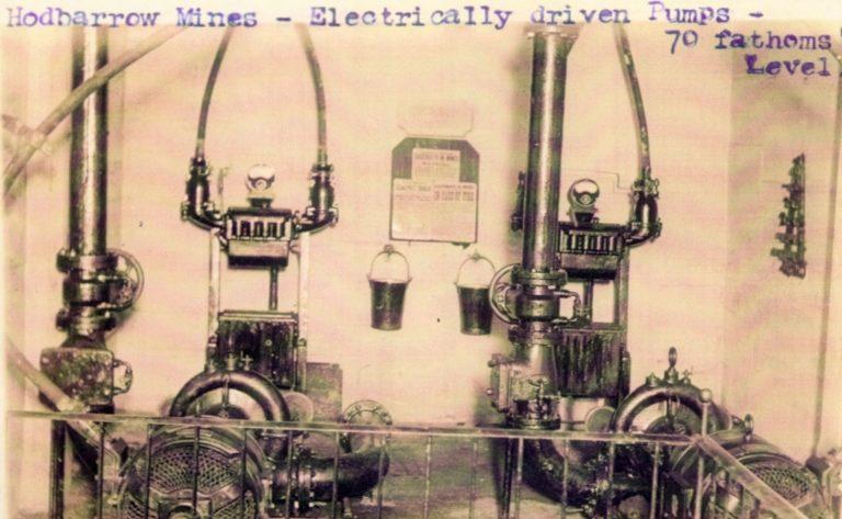 Hodbarrow Mine Electrically Driven Pumps