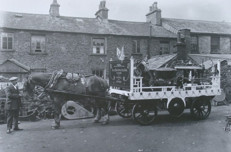 Horse Cart In Display