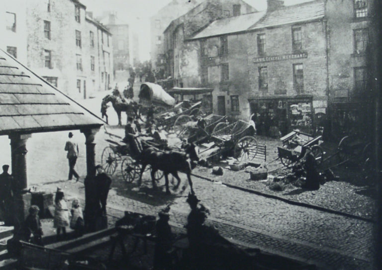 Horses And Carts In Street2