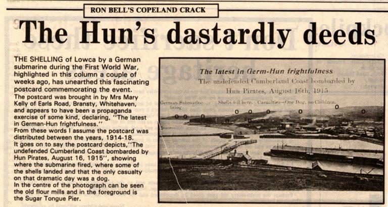 Lowca Huns Dastardly Deeds In War 1915