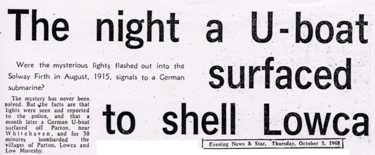 Lowca Night A UBoat Surfaced To Shell Lowca In War 1915