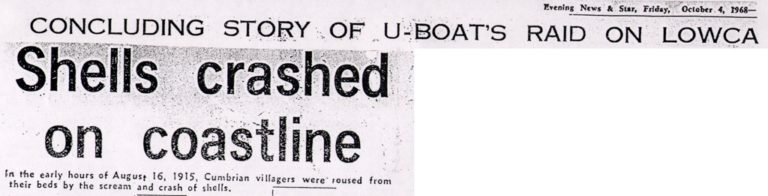 Lowca Shells Crashed On Coastline War 1915