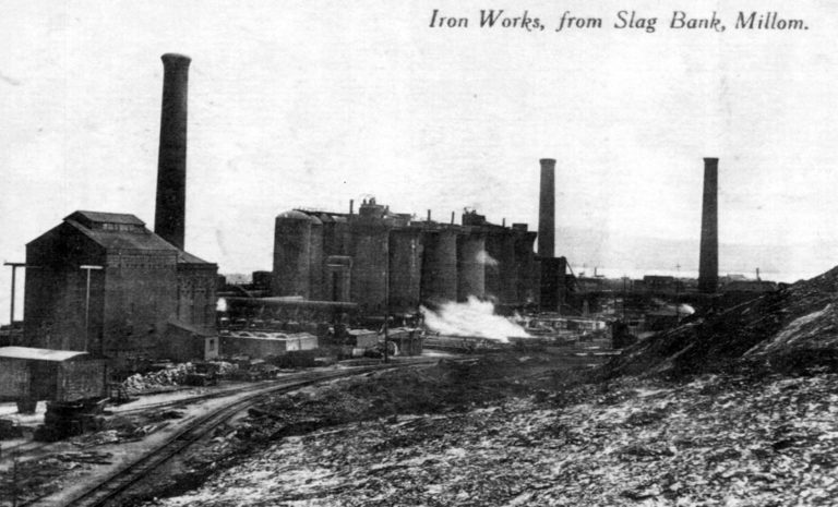 Millom Ironworks 1905