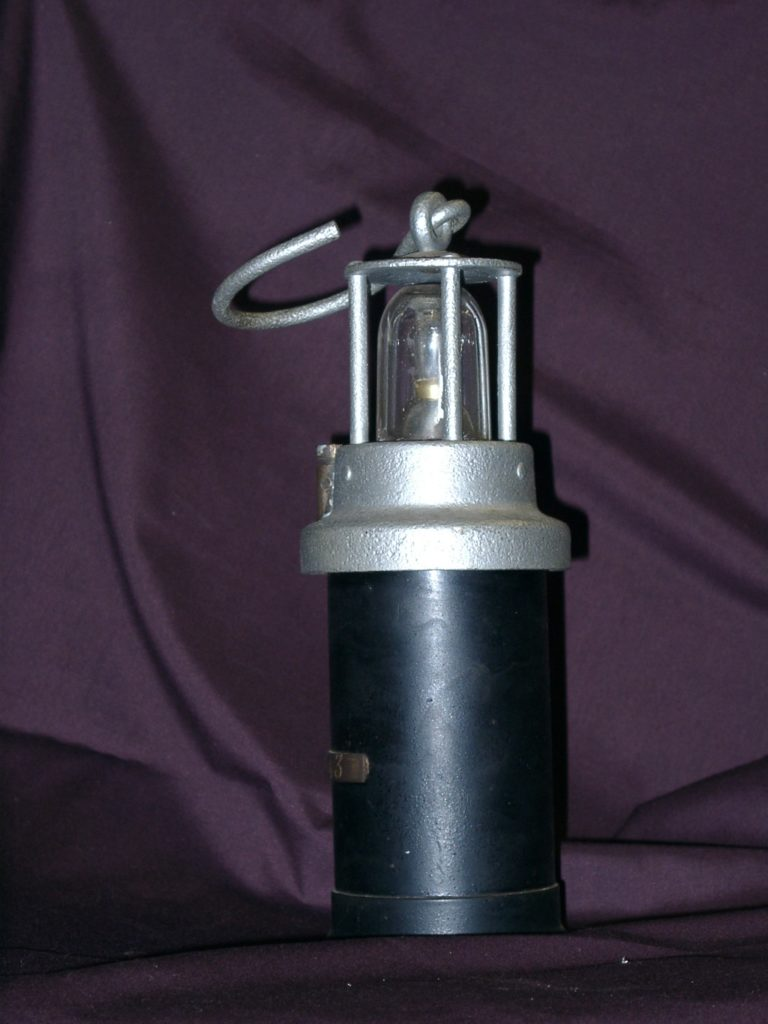 Miners Battery Lamp