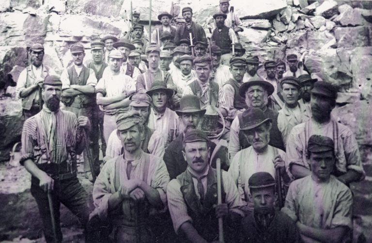 Mining Hodbarrow Miners