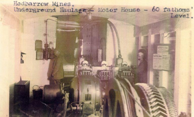 Mining Machinery Motor House