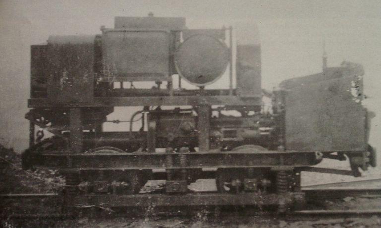 Mining Early Underground Locomotive