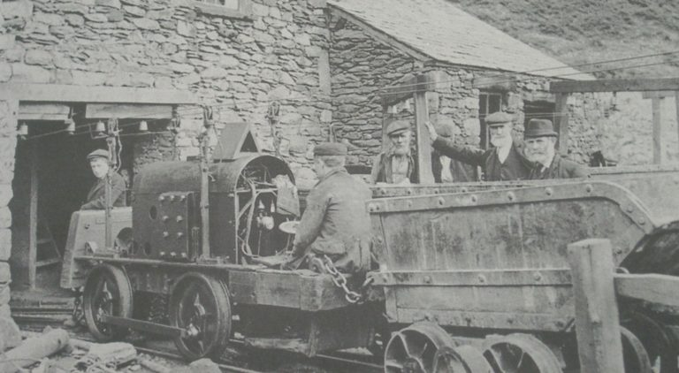 Mining Electrical Locomotive 1910