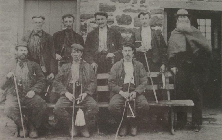 Mining Miners 1900