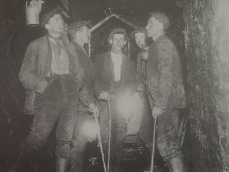 Mining Miners With Candle Lanterns