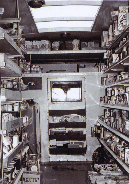 Mobile Shop Interior 1955
