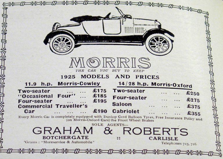 Morris Car Price