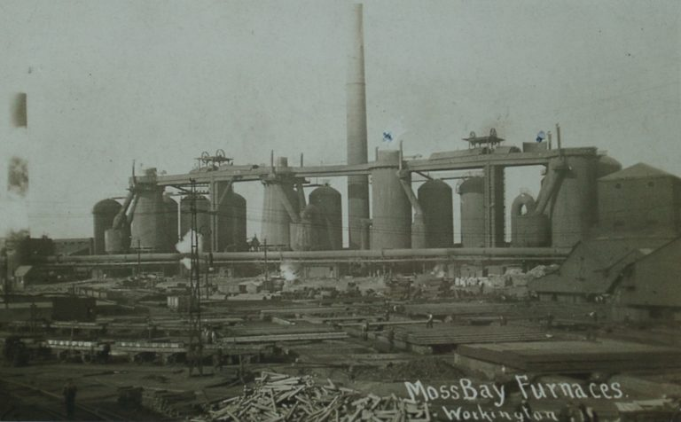 Moss Bay Furnaces Iron Steel