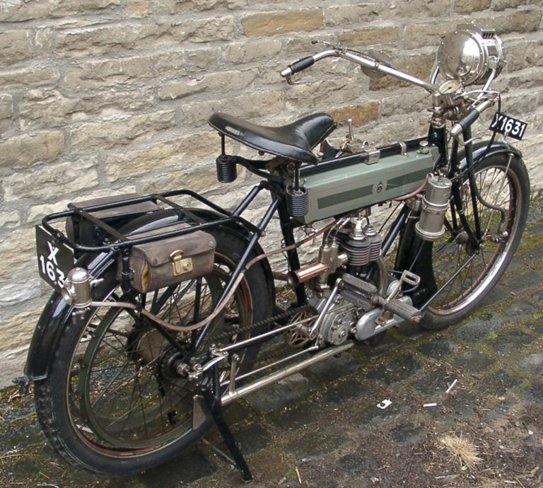Motorbike 1912 Bck