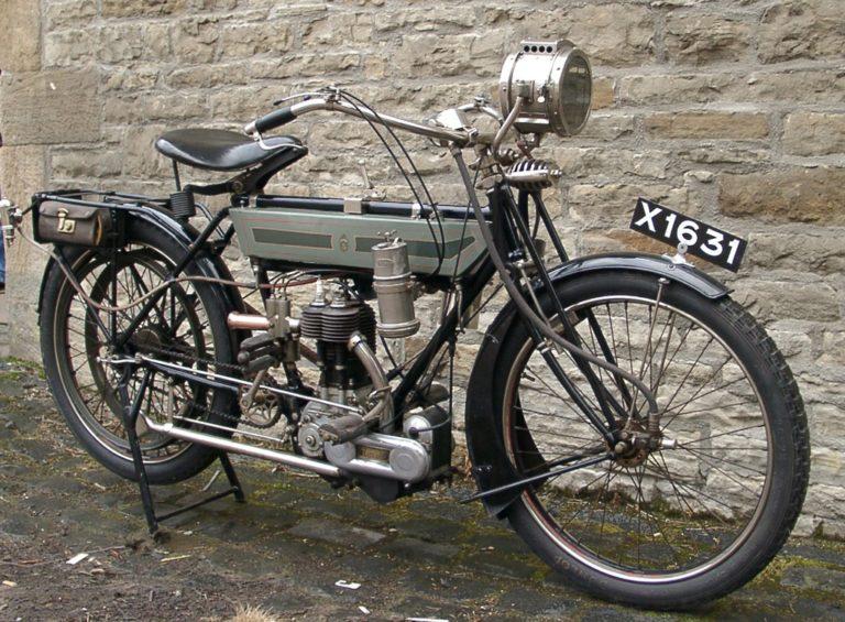 Motorbike 1912 Frnt