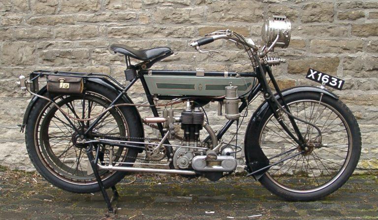 Motorbike 1912 Side
