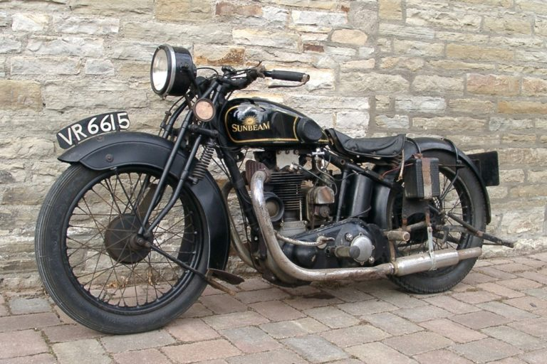 Motorbike Sunbeam Frnt1