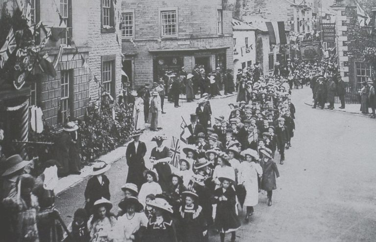 Parade Children In Coronation Day 1911