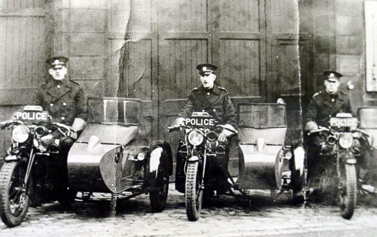 Police Mbike W Sidecar